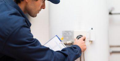 mantenimiento de calentadores de gas