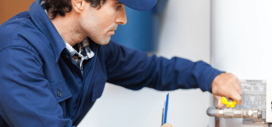 mantenimiento de calentadores de gas profesional